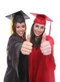 Gradúe a los amigos de las mujeres Imagen de archivo