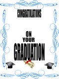 Grad declaration Stock Photography