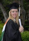 Grad-Frau des Originals Lizenzfreie Stockfotografie
