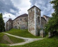Grad. Ljubljana Grad Castle, Ljubljana, Slovenia Royalty Free Stock Photos