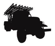 Grad MLRS vector Royalty Free Stock Image
