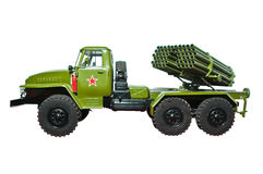 Grad mobile rocket launcher Royalty Free Stock Images