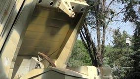 Grad rocket launcher stock video footage
