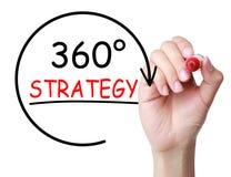 360 Grad Strategie-Konzept- vektor abbildung