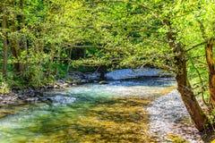 Ποταμός Gradac ΕΙΚΌΝΑΣ HDR Στοκ Φωτογραφίες