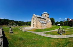 Gradac kloster Royaltyfri Bild