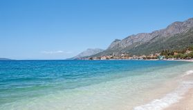 Gradac, Makarska Riviera, Dalmatien, Kroatien Lizenzfreies Stockfoto