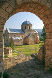 Gradac monaster obraz stock