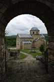 Gradac Monastery. Serbian Orthodox monastery Gradac is located in the central part of Serbia, near the town of Raska Royalty Free Stock Photos