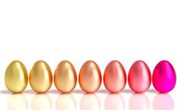 Gradaci Easter jajka Obraz Stock