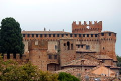 Gradara castle stock photos