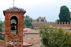Gradara castle Royalty Free Stock Photo