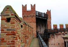 Gradara slott Arkivbild