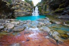 Gradas de Soaso στην κοιλάδα Πυρηναία Huesca SP Ordesa ποταμών Arazas Στοκ φωτογραφίες με δικαίωμα ελεύθερης χρήσης