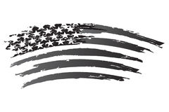 Gradazione di grigio americana Fotografia Stock Libera da Diritti