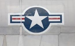 Gradbeteckning för USA-flygvapen Arkivfoton