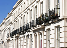 Grade 2 listed houses Royalty Free Stock Image