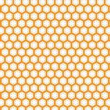 Grade abstrata da textura de Honey Comb Pattern Background Fabric ilustração do vetor