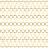 Grade abstrata da textura de Honey Comb Pattern Background Fabric ilustração stock