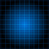 Grade abstrata na obscuridade - fundo azul ilustração stock