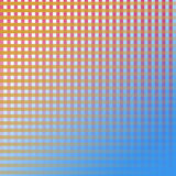 Grade alaranjada branca de RedPurple Fotos de Stock
