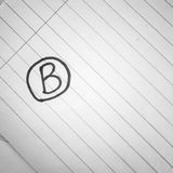 Grade b black and white color tone style Royalty Free Stock Image