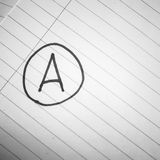 Grade a black and white color tone style Stock Photos