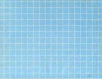 Grade branca no azul Imagem de Stock