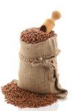 Grade brown rice grain Stock Photos