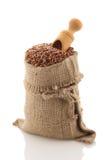 Grade brown rice grain Royalty Free Stock Images