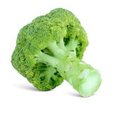 Grade of cabbage broccoli. On the white background Stock Photo