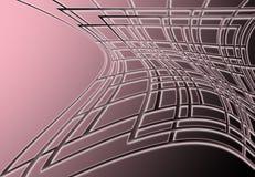 Grade cor-de-rosa Fotos de Stock