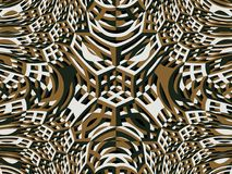 grade 3d Parede de pedra Ornamento decorativo Fotografia de Stock Royalty Free