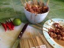 Grade da carne de porco Foto de Stock Royalty Free