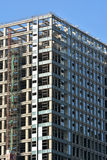 Grade da construção sob a construção Imagem de Stock