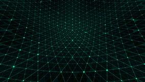 A grade da distorção backgroundgreen ilustração do vetor
