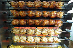 Grade da galinha Fotos de Stock