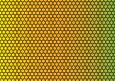 Grade de Honey Comb Pattern Background Texture ilustração royalty free