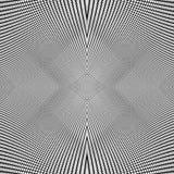 Grade de linhas dinâmicas Teste padrão sem emenda repetível da malha Disto ilustração stock