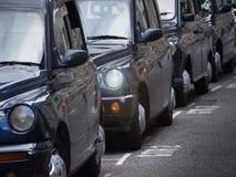 Grade de taxi de Londres photos stock