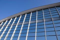 Grade de vidro azul Fotos de Stock Royalty Free