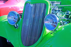 Grade do carro antigo Imagens de Stock Royalty Free