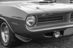 Grade do carro do vintage Imagem de Stock Royalty Free