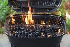 Grade do carvão vegetal Foto de Stock