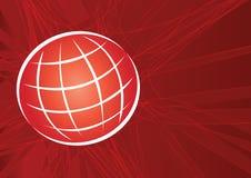 Grade do globo artística ilustração royalty free