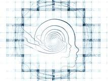 Grade do projeto inteligente ilustração royalty free