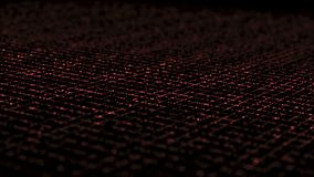 Grade isométrica dinâmica do relâmpago vermelha ilustração do vetor