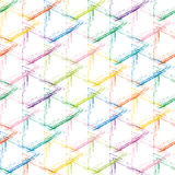 Grade multicolorido do grunge em um fundo branco Imagens de Stock Royalty Free