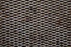 Grade oxidada fotografia de stock