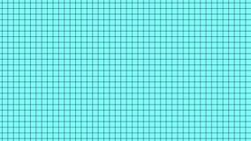 Grade simples limpa abstrata no movimento, fundo dos desenhos animados filme